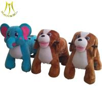 Buy cheap Hansel wholesale electric toy cars  plush toy rider coin animal for kids from wholesalers