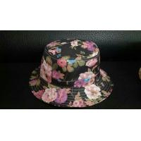 Buy cheap 2014 Fashion quality cotton floral printing bucket hat from wholesalers