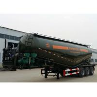 Buy cheap Powder Material Tank Semi Truck Trailer , 48000L Weichai Engine Semi Tractor Trailer from wholesalers