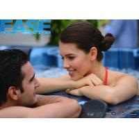 Buy cheap 220V / 23A, RCD protected circuits, acrylic shell square massage 5 - 7 persons spa hot tub from wholesalers