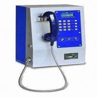Buy cheap GSM Metal Payphone with Compact Steel Casing and Backlight LCD from wholesalers