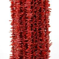 """Buy cheap Natural Red Coral Gemstone Nugget Loose Beads 16.5"""" product"""