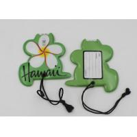 Buy cheap 16P free plastic ID Card Luggage Bag Tags with Loop / 2pc white LEDs from wholesalers