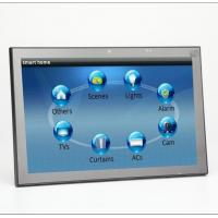 Buy cheap New 10 Inch Android 6 OS Wall Mounted Industrial Control Panel With PoE and Changeable LED Light from wholesalers