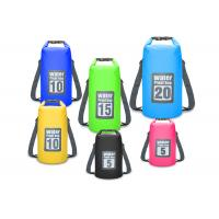 Buy cheap Paddling / Surfing Roll Top Dry Bag Silk Screen With Adjustable Shoulder Strap from wholesalers