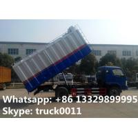 Buy cheap forland 18cbm bulk grains transported truck for sale, forland self-sucking grains truck for wheat, rice, sesame for sale from wholesalers