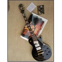 Buy cheap LP Custom Electric Guitar, Mahogany Body, One Piece Neck, Black Beauty, Golden Hardware from wholesalers