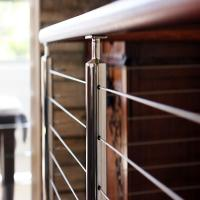 Buy cheap Project Use Stainless Steel Porch Railing Exterior Stairs Grill Railing Design from wholesalers