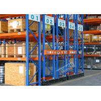 Quality Mobilized Automated Industrial Pallet Racking Weight Capacity 32000 Kg For Warehouse for sale
