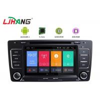 Buy cheap Skoda Octavia Vw Dvd Player , Vehicle Dvd Player With BT Canbus Rear Camera from wholesalers
