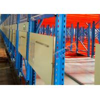 Buy cheap Electric Mobile Shelving Racks , Customized Material Storage Racks ISO CE Certificated from Wholesalers