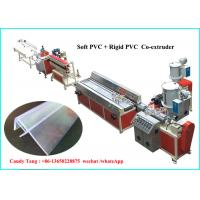 Buy cheap Plastic Price Label Bar Plastic Sheet Extrusion Machine , Plastic Extrusion Equipment from wholesalers