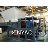 Buy cheap PE PVC pipes  ABS  Nylon Rod Wood Waste Shredder Machine from wholesalers