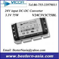 Buy cheap Vicor Power Supply 24Vin to 3.3V 75W DC-DC Converter: V24C3V3C75BL from wholesalers