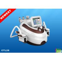 Buy cheap 5MHZ RF 40KHz Cavitation Cryolipolysis Slimming Machine / Coolsculpting Cellulite Removal from wholesalers