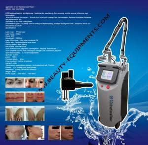 China Pixel co2 laser skin resurfacing With RF Metal Tube 10600nm Skin Peeling Laser System on sale