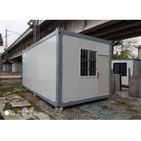 Buy cheap Prefabricated 50mm EPS Sandwich Panel Container House For Security Booth from wholesalers