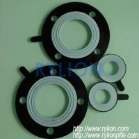 Buy cheap PTFE rubber gasket,any size,with or without hole from wholesalers
