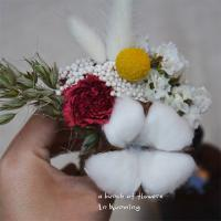 Buy cheap Fashion Dried Wedding Flowers , Colorful Mini Size Dried Flower Bridal Bouquet from wholesalers