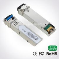 Buy cheap 1.25Gb/s 40Km LC BiDi SFP Transceiver With 1310nm Tx / 1550nm Rx from wholesalers