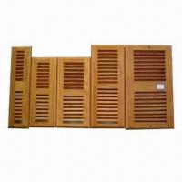 Buy cheap Wooden floor register with damper box, red oak floor register and floor register with dample box from wholesalers