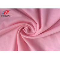 Buy cheap 40D Waterproof 4 Way Stretch Nylon Spandex Fabric For Suit In Pink Color from wholesalers