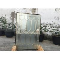 Buy cheap 22*48 Solid Architectural Decorative Panel Glass , Solid Flat Tempered Glass Panels from wholesalers