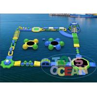 Funny Adults Inflatable Water Park For Rental Walking Amusement
