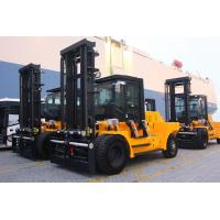 Buy cheap High Efficiency Diesel Forklift Truck Yellow Color Variable Speed Control from wholesalers