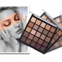 Buy cheap Highly Pigment Brown Eye Shadow 25 Colors Mixed Matte and Shimmer Eyeshadow 25b from wholesalers