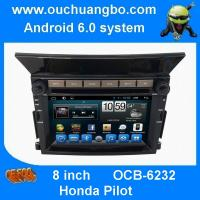 Buy cheap Ouchuangbo car navi dvd android 6.0 for Honda Pilot with SWC USB QUAD CORE A9  ,1.6GHz Frequency from wholesalers