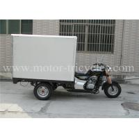 Buy cheap CDI Three Wheel Cargo Motorcycle Trike Closed Box Single Exhaust Air Cooled from wholesalers