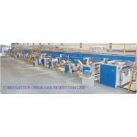 Buy cheap High Speed Layer Corrugated Paper Board Pre Press Equipment Production Line from wholesalers