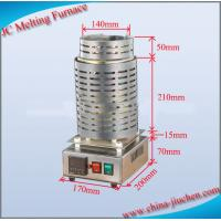 Buy cheap JIUCHEN CE Electric Mini Induction Gold Melter Price Induction Melting Furnace from wholesalers