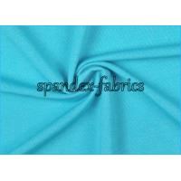 Buy cheap Light Blue Melange Weft Knitting Supplex Lycra Fabric Lightweight Space Dyed from wholesalers