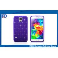 Buy cheap Silicone Crystal Samsung Galaxy S5 Bling Diamond Protective Cover Case from wholesalers