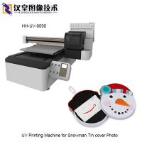 Buy cheap UV Printing Machine for Snowman Tin cover Photo60x90cm from wholesalers