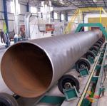 Buy cheap Pipe Wheel Steel Plate Shot Blasting Machine from wholesalers