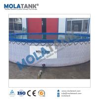 Buy cheap Molatank 2018 New Product Steel Mesh Water Tank Flexible PVC Water Tank Fish Tank from wholesalers