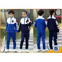 Buy cheap China wholesale school uniform custom school uniform jacket and pants for primary school from wholesalers