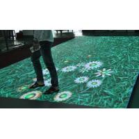 Buy cheap Interactive Dance Floor LED Display For Wedding / Party Stage With SMD Technology from wholesalers