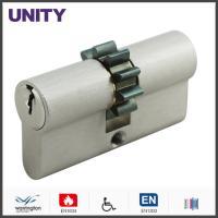 Buy cheap Gear Cam Brass Mortice Lock Cylinder Matt Chrome , Speical Door Lock product