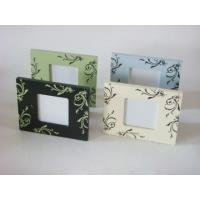 "Buy cheap 3x3"" Silk Printing Contemporary Photo Frames Personalised Wooden Photo Frame product"