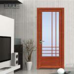 Buy cheap PVDF Aluminium Frame Glass Sliding Door , Commercial Aluminum Double Doors 1.2mm from wholesalers