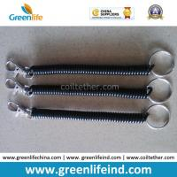 Buy cheap Flexible Spiral Key Ring Elastic Cord Hot Selling Bungee Leash from wholesalers