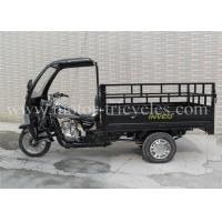 Buy cheap Three Wheel Cargo 200cc Motorcycle Trike 5 Speed With Front Cabin product