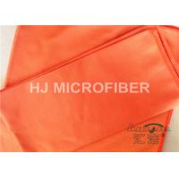 Buy cheap Polyester Microfiber Car Cleaning Cloths Orange , Microfiber Car Drying Towels from wholesalers