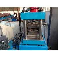 Buy cheap 3 Tons Decoiler Shutter Door Frame Roll Forming Machine 40GP Container Maximal to 1.2mm from wholesalers