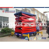 Buy cheap 15M Height 1000kg Capacity Mobile Electric Hydrualic Lifting Platform With ISO from wholesalers