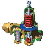 Buy cheap SS8110 spur track Brass pressure reducing valve product
